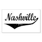 Nashville Rectangle Sticker