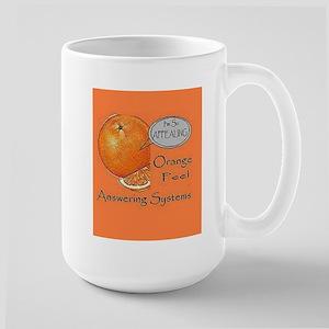 Orange Peel AS Large Mug