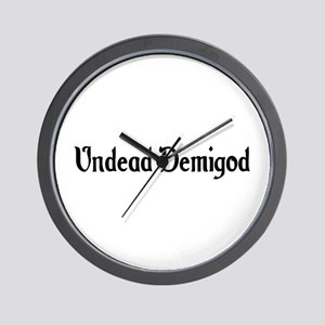 Undead Demigod Wall Clock