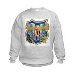 USS EMBATTLE Kids Sweatshirt