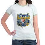 USS EMBATTLE Jr. Ringer T-Shirt