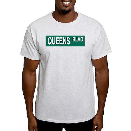 Queens BLVD Ash Grey T-Shirt