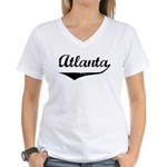 Atlanta Women's V-Neck T-Shirt