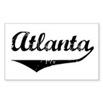 Atlanta Rectangle Sticker