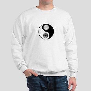 Yin Yang Earth Moon Sweatshirt