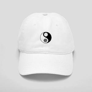 Yin Yang Moon Sun Cap