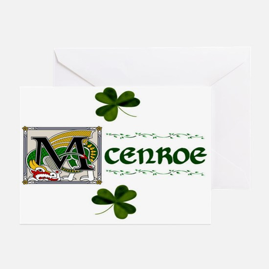 McEnroe Celtic Dragon Note Cards (Pk of 10)