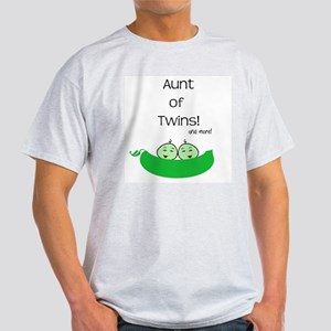 Aunt of twins and more Light T-Shirt