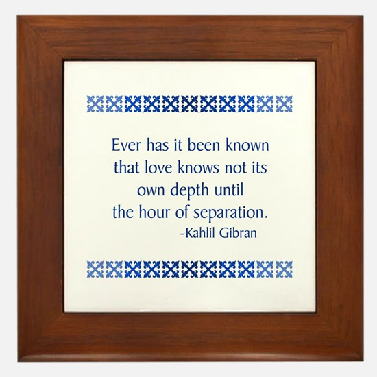 Gibran Framed Tile