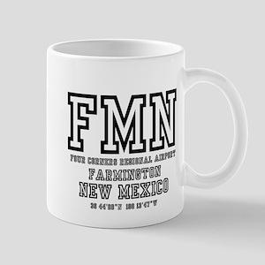 AIRPORT CODES - FMN - FARMINGTON, NEW MEXICO Mugs