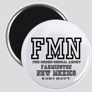 AIRPORT CODES - FMN - FARMINGTON, NEW MEXI Magnets