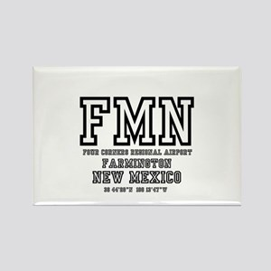 AIRPORT CODES - FMN - FARMINGTON, NEW MEXI Magnets