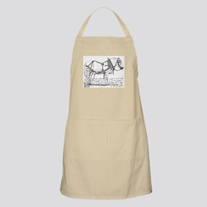 Pulling Pony in Harness BBQ Apron