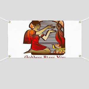 Goddess Bless You Banner