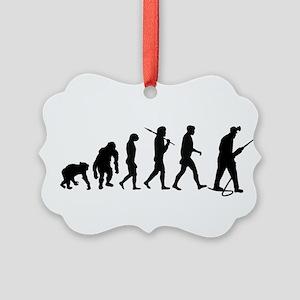 Miners Mining Ornament