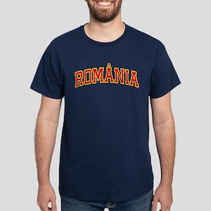 Romania Colors Blue T-Shirt
