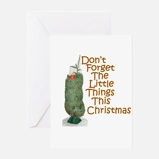 Demented Tree Greeting Card