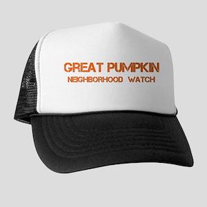 GREAT PUMPKIN WATCH BOLD Trucker Hat