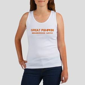 GREAT PUMPKIN WATCH BOLD Women's Tank Top