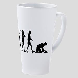 Tiler Floor Mason 17 Oz Latte Mug