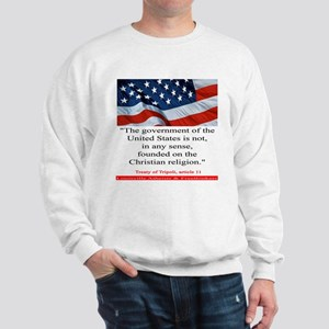Not A Christian Nation Sweatshirt