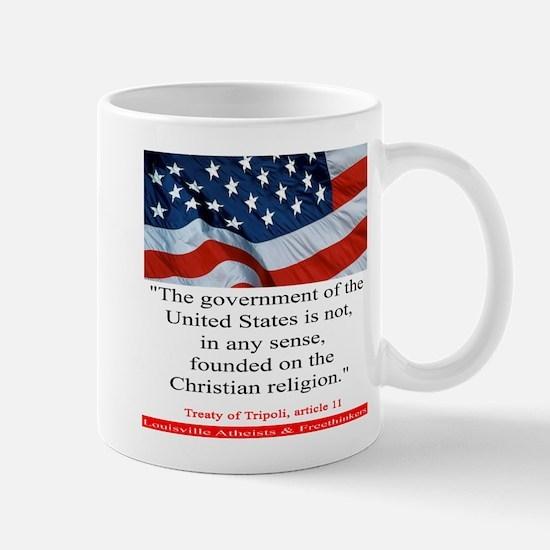 Not A Christian Nation Mug