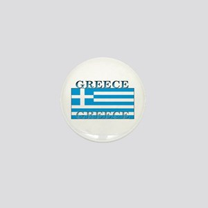 Greece Greek Flag Mini Button