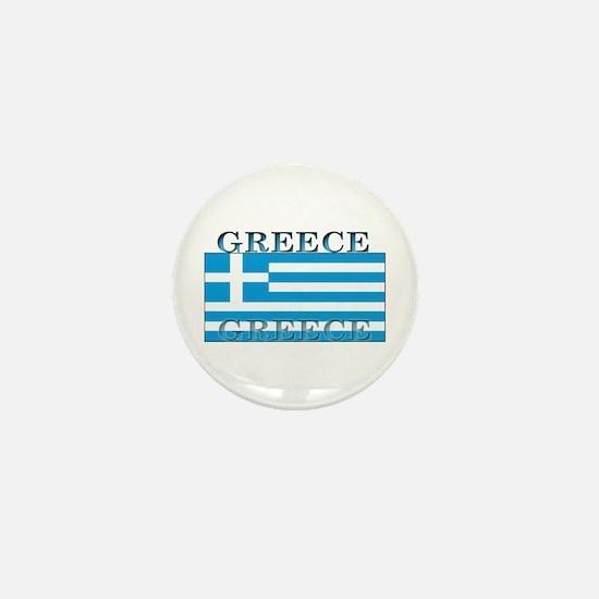 Greece Greek Flag Mini Button