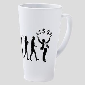Finance Investing Banking 17 Oz Latte Mug