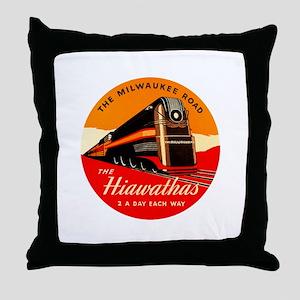 Hiawathas Throw Pillow
