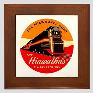 Hiawathas Framed Tile