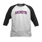 Akureyri Colors Kids Baseball Jersey