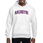 Akureyri Colors Hooded Sweatshirt