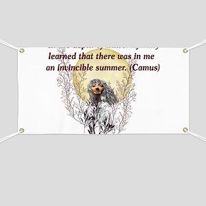 Winter Pagan Goddess Banner