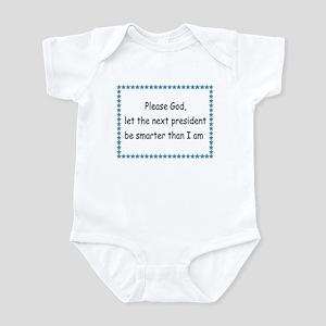 please, God Infant Bodysuit