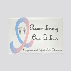 Remembering Our Babies Rectangle Magnet