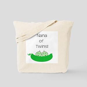 Nana of twins Tote Bag