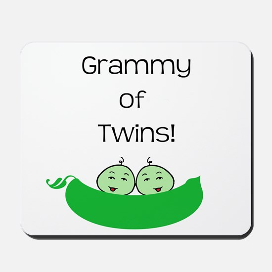 Grammy of twins Mousepad