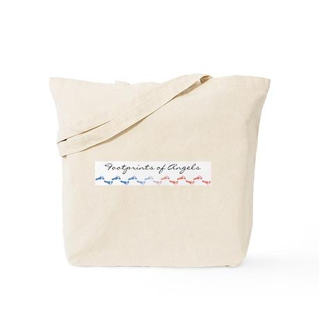 Footprints of Angels Tote Bag
