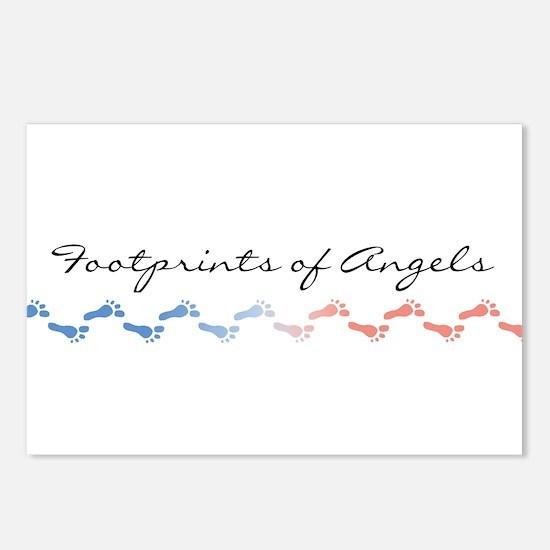 Angel Footprints Postcards (Package of 8)