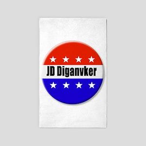 JD Diganvker Area Rug