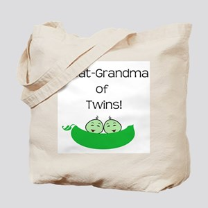 Great Grandma of twins Tote Bag