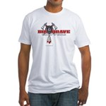 Big Brave Choppers Fitted T-Shirt