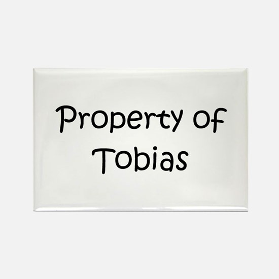 Cute Tobias Rectangle Magnet
