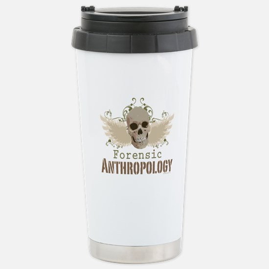 Forensic Anthropology Stainless Steel Travel Mug