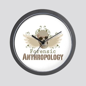Forensic Anthropology Wall Clock