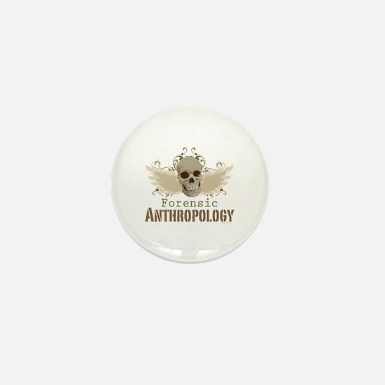 Forensic Anthropology Mini Button