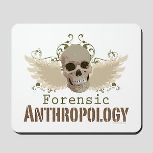 Forensic Anthropology Skull Mousepad