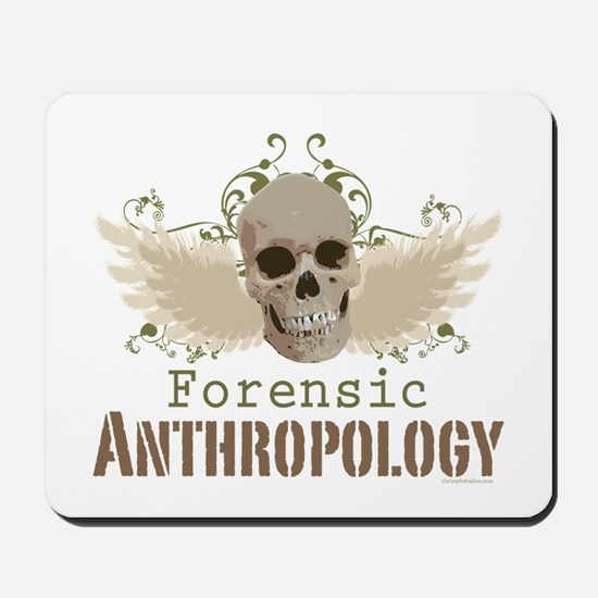 Forensic Anthropology Skull Mousepad