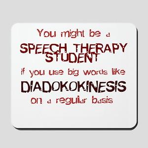 DIADOKOKINESIS Mousepad
